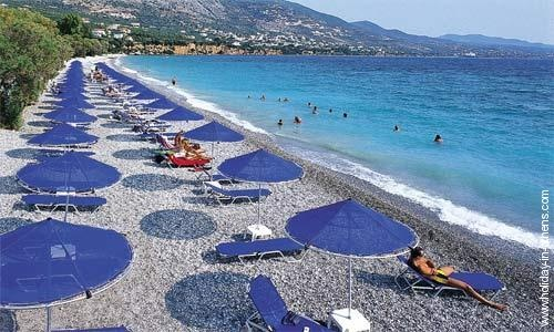 Kalamata Beach - Greece, one of the best places to be in the summer.
