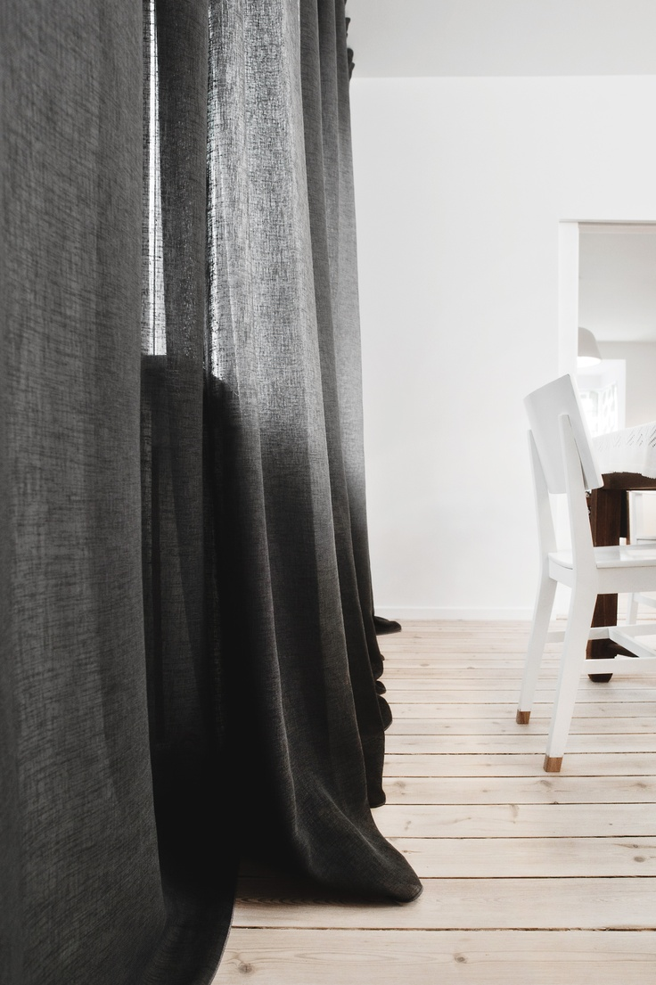 © stylus.pl | #home #inspiration #curtain #decor #dining room