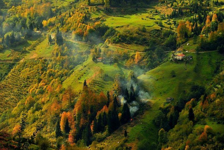 Autumn in Trabzon, Turkey