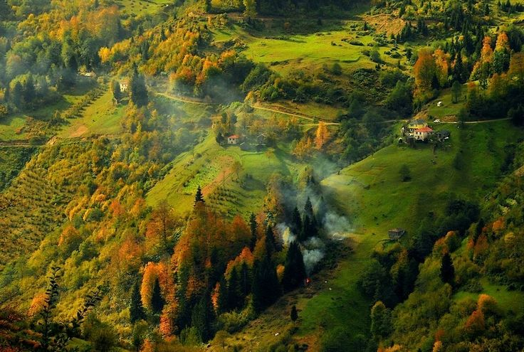 Autumn in Trabzon, Turkey