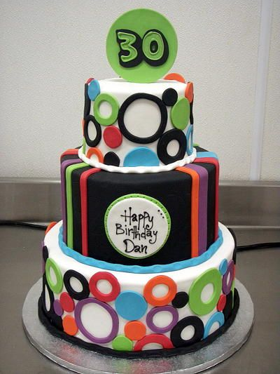 Cake Ideas For Mens 30th : Mens 30th Birthday Cake Ideas and Cake Decorating ...