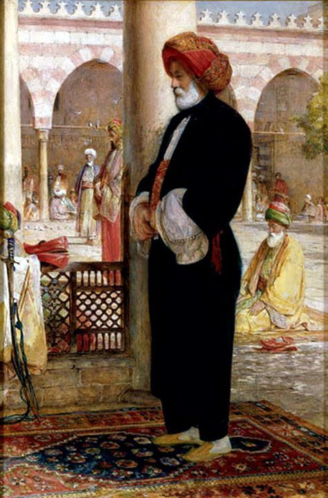 Afternoon Prayer (The 'Asr صلاه العصر ), before 1857, by John Frederick Lewis