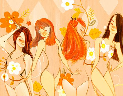 """Check out this @Behance project: """"Girls"""" https://www.behance.net/gallery/25683637/Girls"""