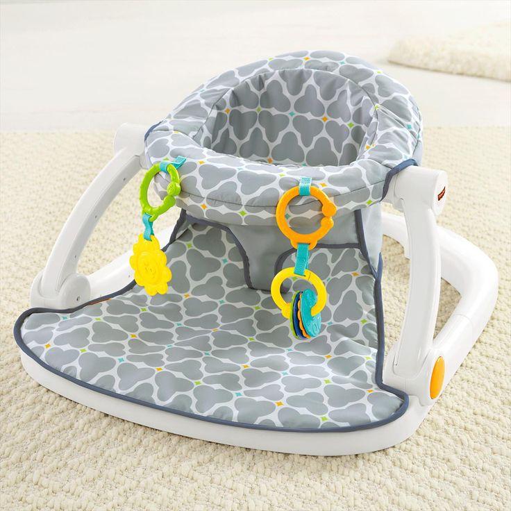 Sit-Me-Up Floor Seat - Silver Platter