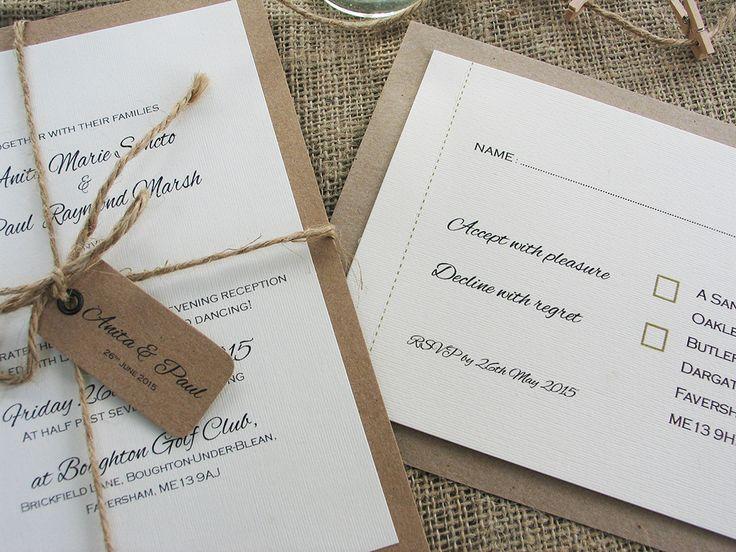 22 Best Wedding Invitations Images On Pinterest Invitation Ideas
