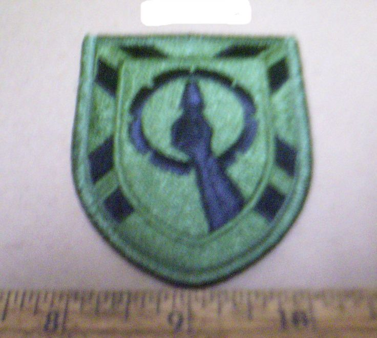 US Army - 121st Army Reserve Command  Subdued Embroidered Patch (NOS)