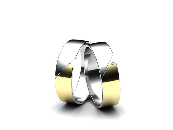 Snubní prsteny A104  #aiola #wedding #rings