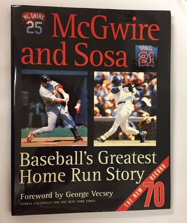 a comparison of mark mcgwire and sammy sosa How mark mcgwire, jfk and, yes, kevin bacon are contending the comparison of mcgwire's home run ball and the resulting frenzy by collectors across the usa was irrelevant to the historic of more significance is the heating up of the home run battle between mcgwire and sammy sosa.