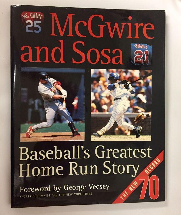 St Louis Cardinals Vs Chicago Cubs Greatest Home Run Sammy Sosa Mark McGwire  | eBay