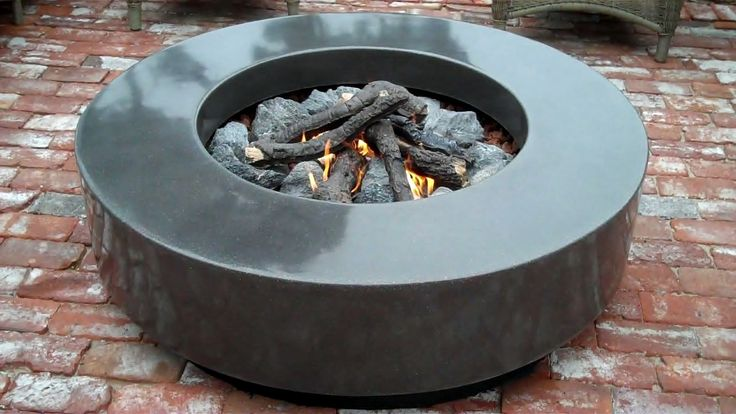 Custom Indoor & Outdoor Concrete Fire Pits For Sale in California - Mark Concrete