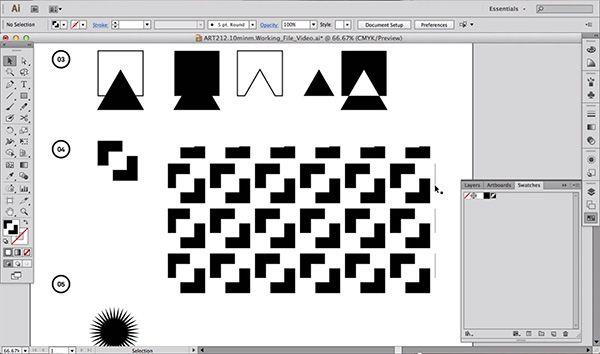 Easy Shape Building in Illustrator