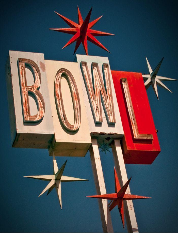 Bowl Fifties Vintage Sign Flakestudios