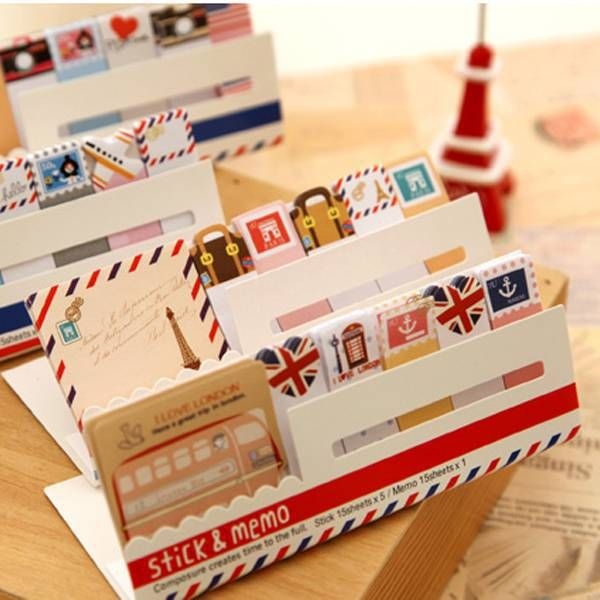 Aliexpress.com: Compre 4 PC Mini Memo Pad Sticky Note Kawaii papel Scrapbooking Sticker Pads criativo coreano papelaria frete grátis 369 de confiança artigos de papelaria fornecedores em 10 dollar Novelty stationery store