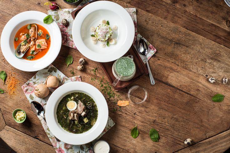 """Soups for """"Dvorets Pionerov"""" restaurant"""