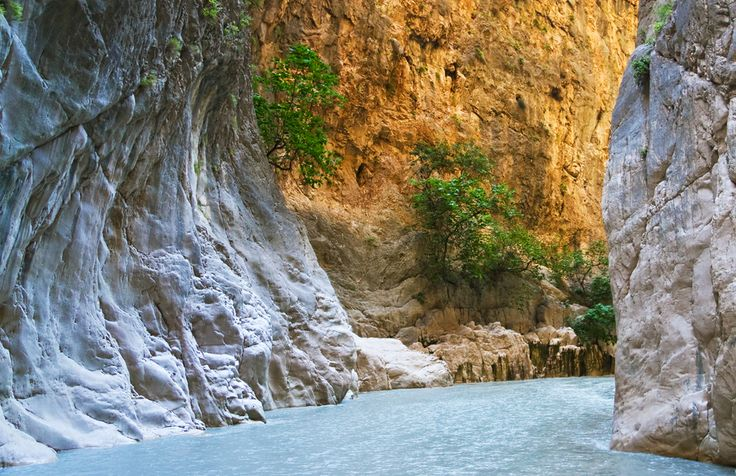 Find yourself 300m down in Saklıkent, one of the deepest canyons on earth.