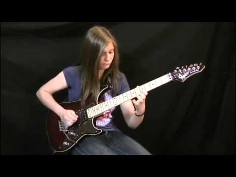 14 Year Old Girl Shreds Van Halen Song on the Guitar = WOW!  (FULL HD Version)