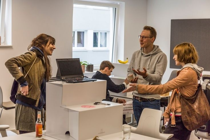Capisco Puls integrated into Cowoki Coworking Plus in Köln, Germany #InspireGreatWork #creativity #office #design