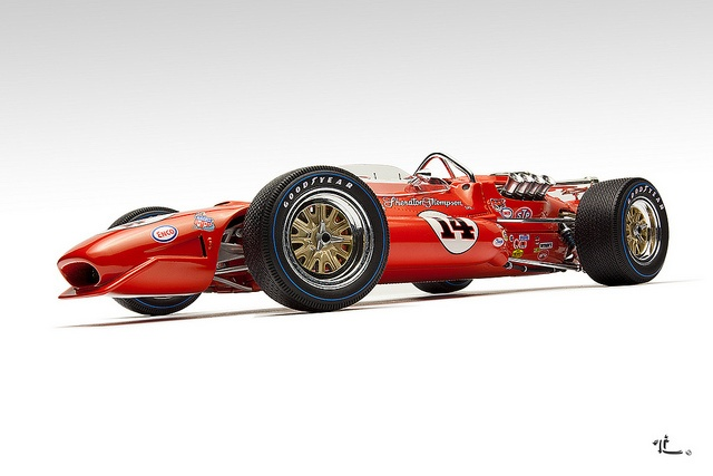 Sheraton Thompson Coyote Indy 500 winner 67  | This may be one of my favorite 500 winning cars.