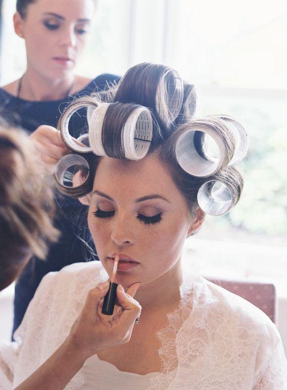 261 Best Roller Images On Pinterest Hair Dos Roller Set