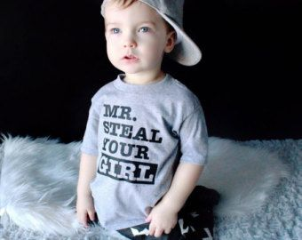 Toddler Shirt / Graphic Tee / Mr Steal your Girl / Infant Shirt / Infant tee / Funny kids shirt