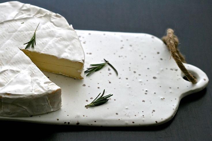White cheese board handmade minimal kitchen by GolemDesigns