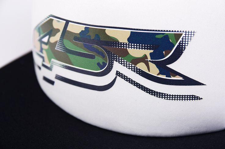 4SR Camo Snapback Cap