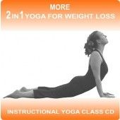 This yoga class is the second in the series and progresses naturally from 2 in 1 Yoga for weight Loss.