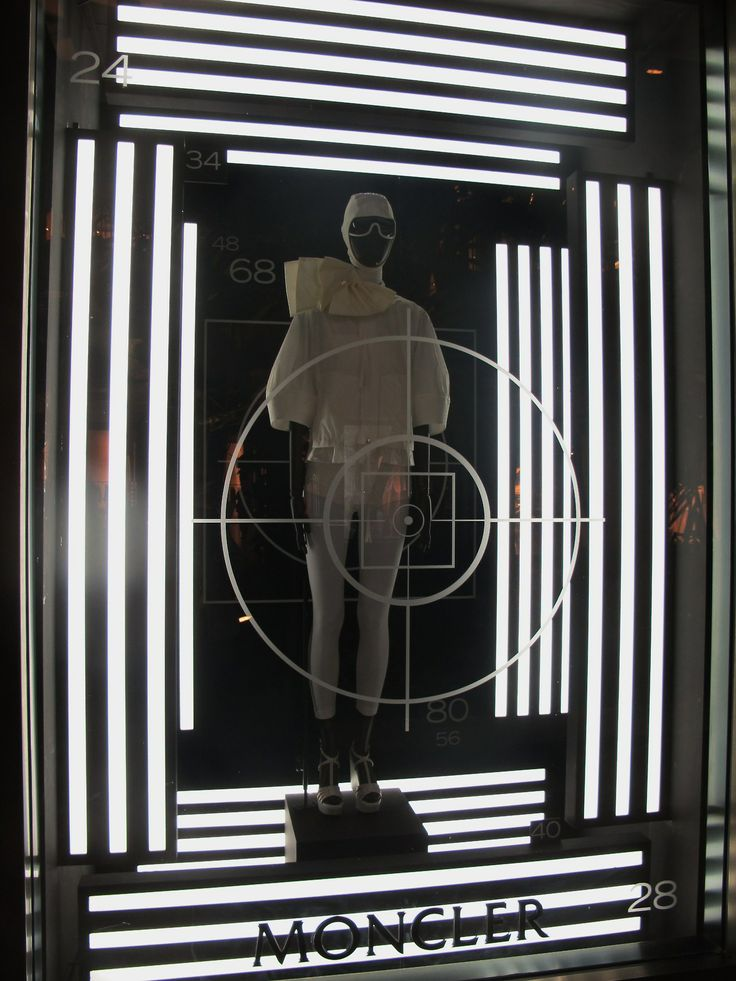"MONCLER, Miami,USA, ""on target"", pinned by Ton van der Veer"