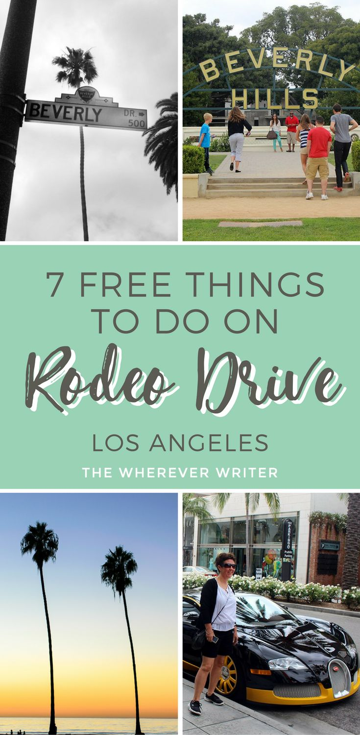 Things to do on Rodeo Drive | Beverly Hills | Los Angeles | California travel