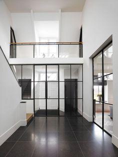 Design stalen deuren in hal - Exclusive Steel produced by Rasenberg