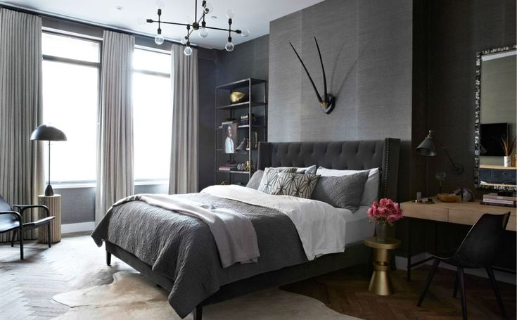 Jenny wolf interiors portfolio interiors contemporary eclectic gothicbaroque industrial modern transitional bedroom
