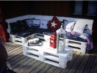 New garden furniture corner lounger & table Newcastle Picture 1