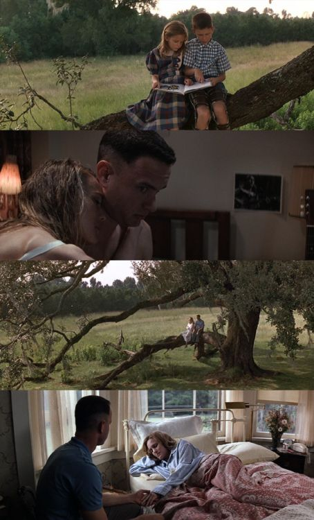 "Forrest & Jenny, Forrest Gump.1994  ""From that day on we was always together .Jenny and me was like peas and carrots.."""