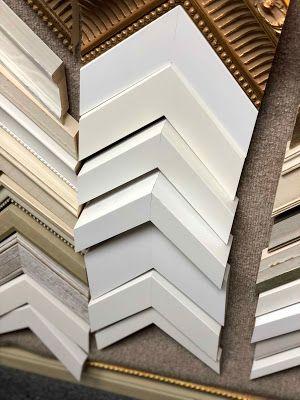 White and Light Custom Frames to Lighten Up Your Decor Bonrics ...