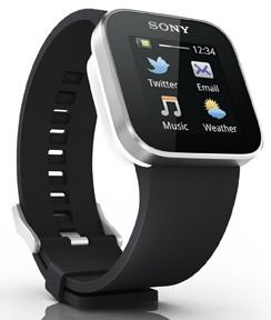Avec sa montre Sony Smartwatch, le fan de technologie embarqué est servi: son écran de 1,3'' multitouch permet de gérer certaines applications (Facebook, Twitter, météo, lecteur audio), de visualiser ses SMS, ses appels manqués, et même d'envoyer de petits messages. 129€ sur http://in.lesinrocks.com/
