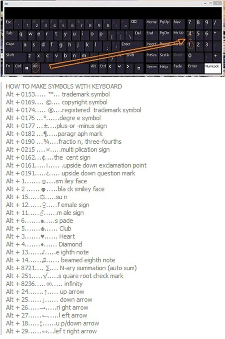 This is some symbols you can make from your keyboard awesome!!!!!!! So cool!