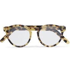 Cutler and GrossRound-Frame Tortoiseshell Acetate Optical Glasses €345