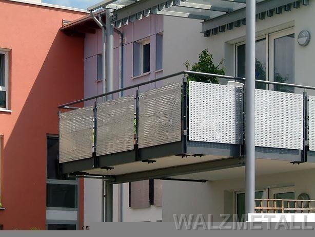 ber ideen zu balkongel nder edelstahl auf. Black Bedroom Furniture Sets. Home Design Ideas