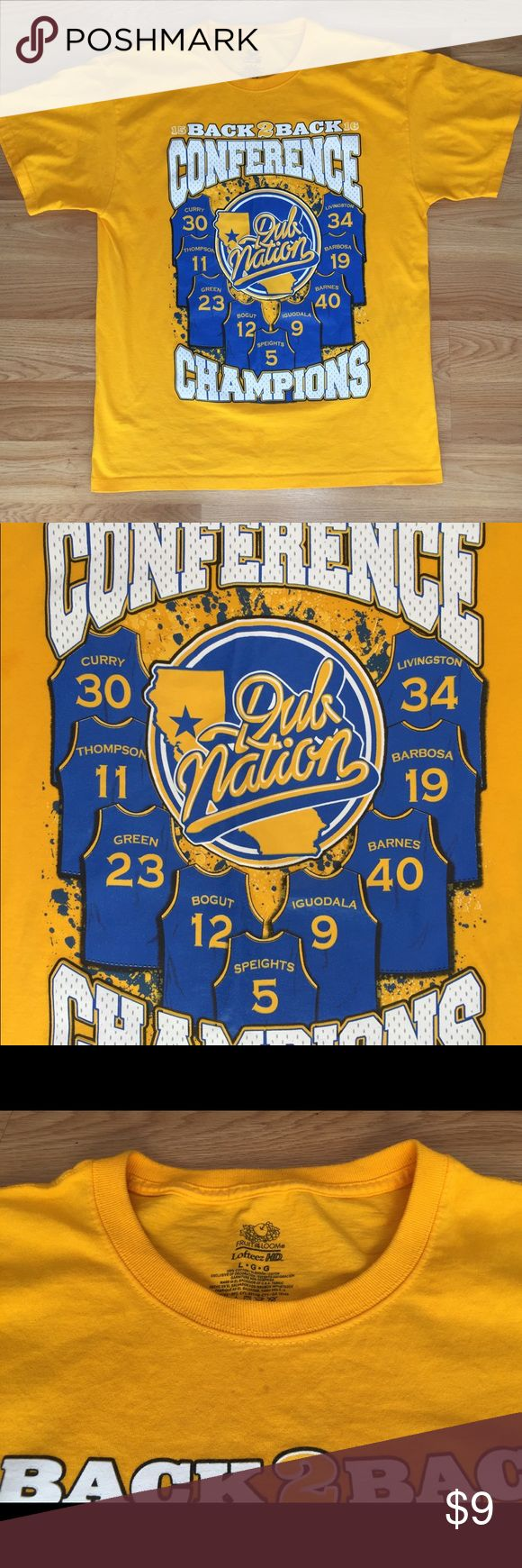Golden State Warriors Conference Finals shirt NBA Golden State Warriors 2015-2016 conference finals champions shirt. New w/o tags. Shirts Tees - Short Sleeve