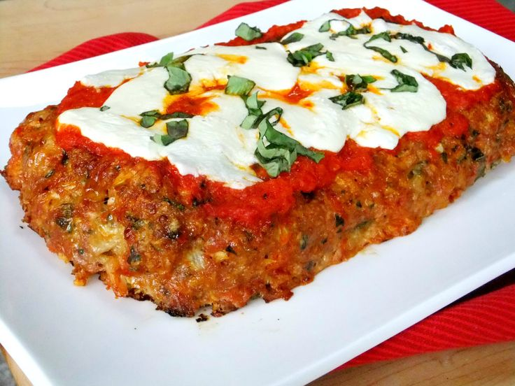 Proud Italian Cook: Chicken Parmesan Meatloaf | Mandarano Balsamic Glaze and Sauce