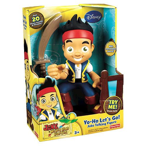 "Fisher-Price Jake and the Never Land Pirates Talking Figure - Yo Ho Let's Go! Jake - Fisher-Price - Toys ""R"" Us"