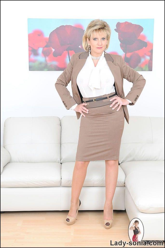 Business suit secretary porn