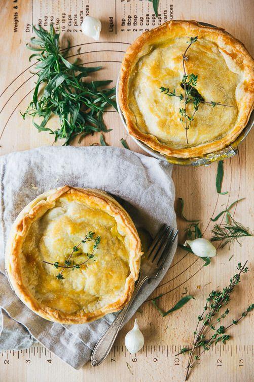 Savory Veggie Pot Pie – The Blonde Chef