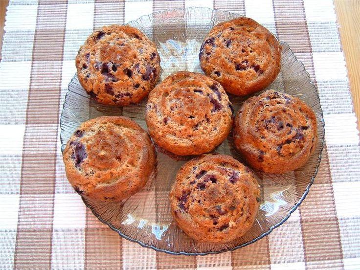 Helin gluteenittomat mustikkamuffinit