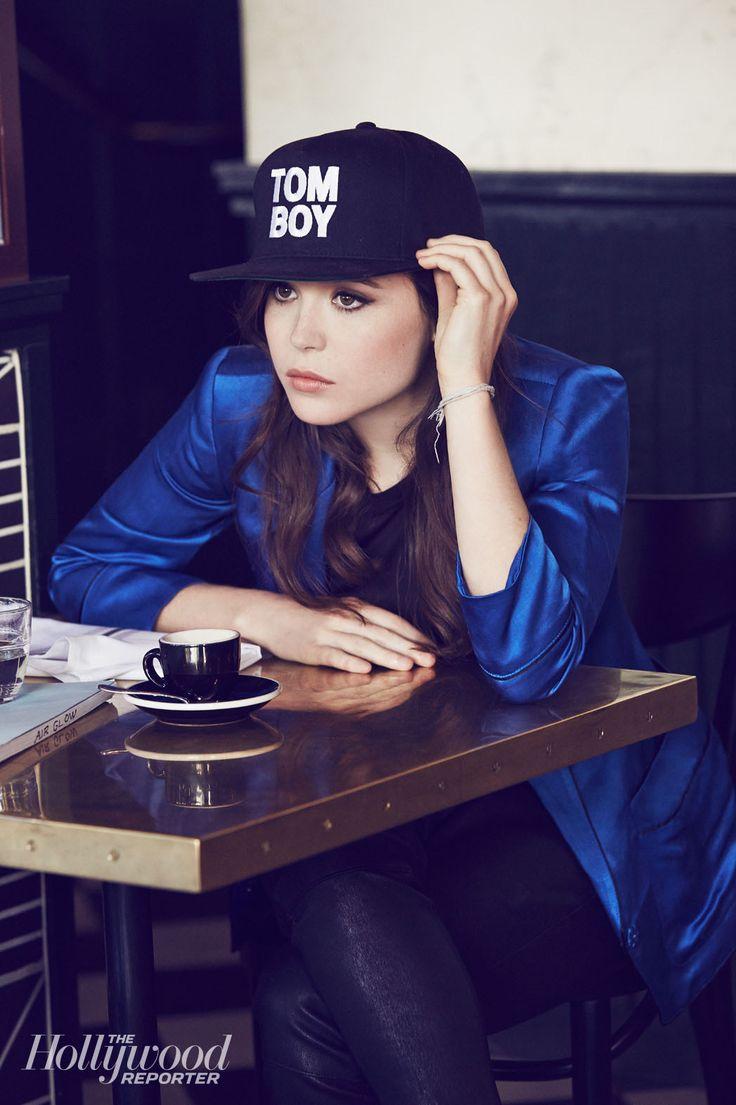 Ellen Page's Cannes Cover