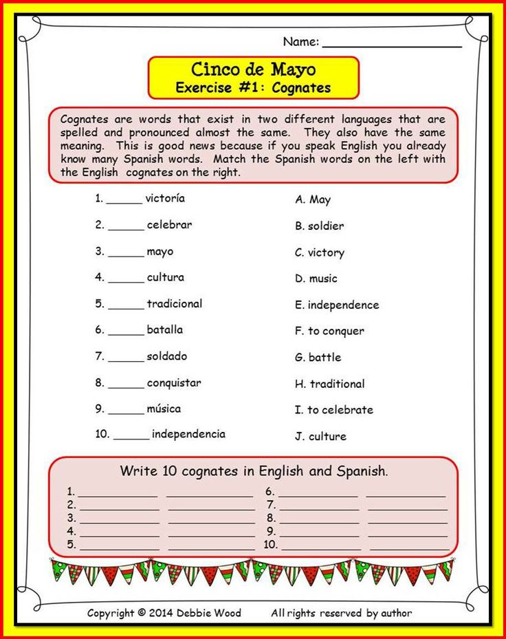 13 Best 6th Grade Esl Images On Pinterest Spanish Classroom