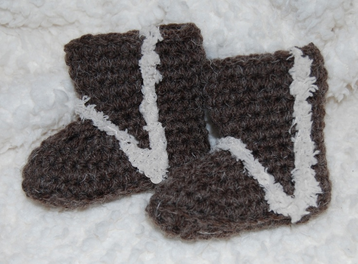 Free Crochet Pattern Baby Ugg Booties : Free #crochet #patterns - Crochet Baby Uggs Free -Crochet ...