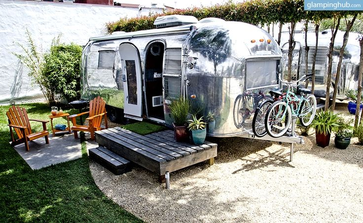 Airstream Trailers For Rent in Santa Barbara | Unique Camping in  #glamping  #july4 #happybirthdayamerica