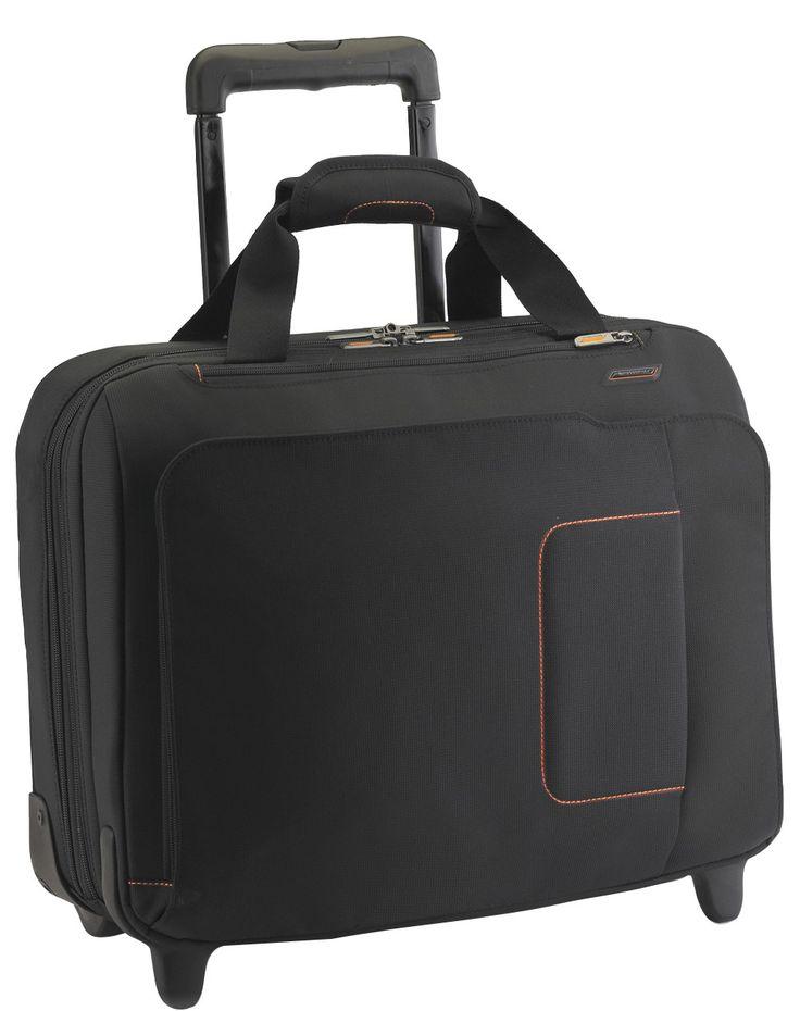 Business Briggs And Riley Verb VBR460 Roam Large Rolling Laptop Case Black