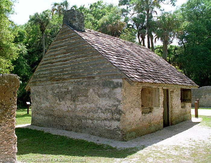 Slave Cabins | One of the original slave cabins at the Kingsley Plantation has been ...